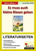 Cover-Bild zu Es muss auch kleine Riesen geben - Literaturseiten (eBook) von Kohl, Lynn-Sven