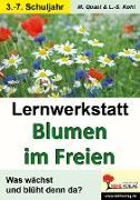 Cover-Bild zu Lernwerkstatt Blumen im Freien (eBook) von Quast, Moritz