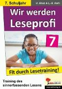 Cover-Bild zu Wir werden Leseprofi 7 (eBook) von Stolz, Ulrike
