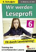 Cover-Bild zu Wir werden Leseprofi 6 (eBook) von Stolz, Ulrike