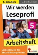 Cover-Bild zu Wir werden Leseprofi 5 - Arbeitsheft (eBook) von Stolz, Ulrike