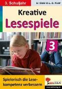 Cover-Bild zu Kreative Lesespiele zur Verbesserung der Lesekompetenz 3 (eBook) von Stolz, Ulrike