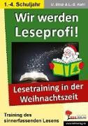 Cover-Bild zu Wir werden Leseprofi! - Grundschule (eBook) von Stolz, Ulrike
