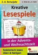 Cover-Bild zu Kreative Lesespiele in der Advents- und Weihnachtszeit (eBook) von Stolz, Ulrike
