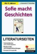 Cover-Bild zu Sofie macht Geschichten - Literaturseiten (eBook) von Schmidt, Jasmin