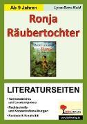 Cover-Bild zu Ronja Räubertochter - Literaturseiten (eBook) von Kohl, Lynn-Sven
