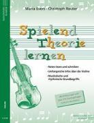 Cover-Bild zu Spielend Theorie lernen (Violine) von Evers, Maria