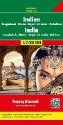 Cover-Bild zu Indien - Bangladesch ? Bhutan ? Nepal Sri Lanka ? Malediven, Autokarte 1:2.000.000. 1:2'000'000
