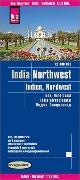 Cover-Bild zu Reise Know-How Landkarte Indien, Nordwest (1:1.300.000). 1:1'300'000