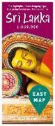 Cover-Bild zu EASY MAP Sri Lanka. 1:550'000