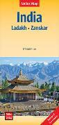 Cover-Bild zu India : Ladakh, Zanskar | Indien : Ladakh, Zanskar | Inde : Ladakh, Zanskar. 1:350'000