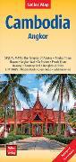 Cover-Bild zu Cambodia - Angkor | Kambodscha - Angkor | Cambodge - Angkor | Camboya - Angkor. 1:1'500'000