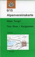 Cover-Bild zu Khan Tengri, Tien Shan / Kyrgyzstan. 1:100'000