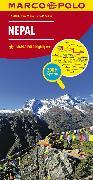 Cover-Bild zu Nepal. 1:750'000