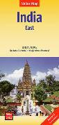 Cover-Bild zu Nelles Map Landkarte India: East. 1:1'500'000