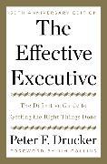 Cover-Bild zu Drucker, Peter F.: The Effective Executive