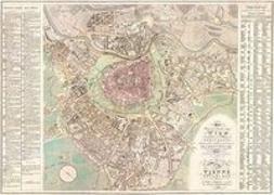 Cover-Bild zu Wien und dessen Vorstädten 1824, Historische Karte 1:6.000, plano in Rolle. 1:6'000