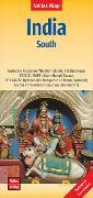Cover-Bild zu Nelles Map Landkarte India: South | Indien: Süd | Inde: Sud | India: Sur. 1:1'500'000