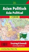 Cover-Bild zu Asien physisch-politisch, Großformat, 1:9 Mio., Poster. 1:9'000'000