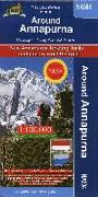 Cover-Bild zu Trekking Map Annapurna 1:100 000. 1:100'000