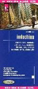 Cover-Bild zu Reise Know-How Landkarte Indochina 1 : 1.200.000 : Vietnam, Laos, Kambodscha. 1:1'200'000