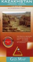 Cover-Bild zu Kazakhstan Geographical Map 1 : 3 000 000. 1:3'000'000