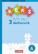 Cover-Bild zu KEKS, Kompetenzerfassung in Kindergarten und Schule, Mathematik, 3. Schuljahr, KEKS 3, 15 Testhefte A von Hildenbrand, Claudia