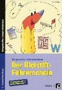 Cover-Bild zu Der Bleistift-Führerschein von Wehren, Bernd