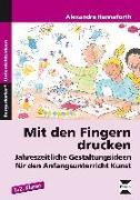 Cover-Bild zu Mit den Fingern drucken von Hanneforth, Alexandra