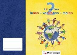 Cover-Bild zu ABC der Tiere 2 · lesen - verstehen - malen von Kresse, Tina