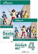 Cover-Bild zu Anschluss finden / Deutsch 4 - Das Übungsheft - Grundlagentraining: Leseheft und Arbeitsheft von Kresse, Tina