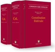 Cover-Bild zu Martenet, Vincent (Hrsg.): Constitution fédérale