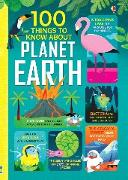 Cover-Bild zu Mariani, Federico (Illustr.): 100 Things to Know About Planet Earth