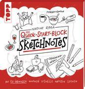 Cover-Bild zu Sketchnotes. Der Quick-Start-Block von Roßa, Nadine