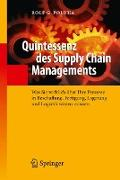 Cover-Bild zu Quintessenz des Supply Chain Managements von Poluha, Rolf G.