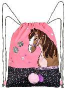 Cover-Bild zu Reflektierender Turnbeutel Pferde