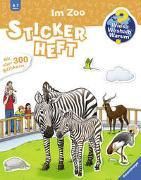 Cover-Bild zu Wieso? Weshalb? Warum? Stickerheft: Im Zoo von Koh, Yousun (Illustr.)