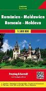 Cover-Bild zu Rumänien - Moldawien, Autokarte 1:500.000. 1:500'000 von Freytag-Berndt und Artaria KG (Hrsg.)
