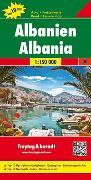 Cover-Bild zu Albanien, Autokarte 1:150.000, Top 10 Tips. 1:150'000 von Freytag-Berndt und Artaria KG (Hrsg.)