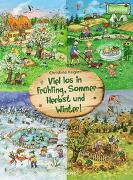Cover-Bild zu Viel los in Frühling, Sommer, Herbst und Winter! von Kugler, Christine (Illustr.)