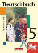 Cover-Bild zu Deutschbuch, Sprach- und Lesebuch, Grundausgabe 2006, 5. Schuljahr, Schülerbuch von Berghaus, Christoph