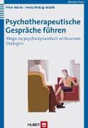 Cover-Bild zu Psychotherapeutische Gespräche führen von Müller, Peter
