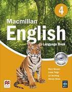 Cover-Bild zu Macmillan English 4 Language Book von Bowen, Mary
