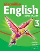 Cover-Bild zu Macmillan English 3 Teacher's Guide von Bowen, Mary