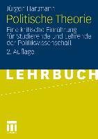 Cover-Bild zu Politische Theorie von Hartmann, Jürgen