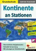 Cover-Bild zu Kontinente an Stationen / Grundschule (eBook) von Rosenwald, Gabriela