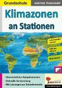 Cover-Bild zu Klimazonen an Stationen / Grundschule (eBook) von Rosenwald, Gabriela