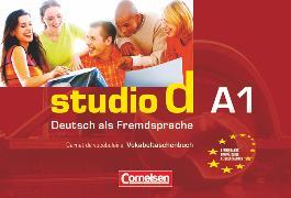 Cover-Bild zu Studio d, Deutsch als Fremdsprache, Grundstufe, A1: Gesamtband, Vokabeltaschenbuch Deutsch-Französisch