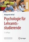 Cover-Bild zu Psychologie für Lehramtsstudierende von Imhof, Margarete