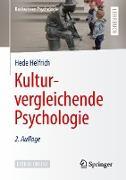 Cover-Bild zu Kulturvergleichende Psychologie (eBook) von Helfrich, Hede